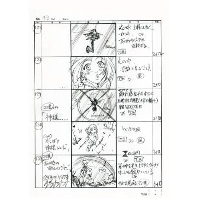 Japanese Anime Manga Storyboard Book  Flcl