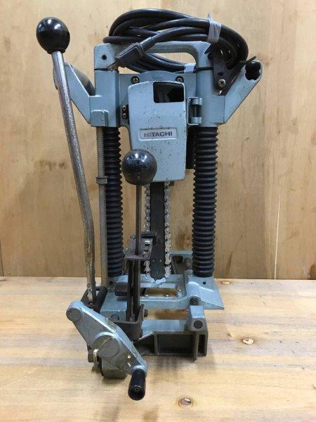 Photo1: HITACHI Chain Mortiser Woodworking tools AC100V CA22 #7 (1)
