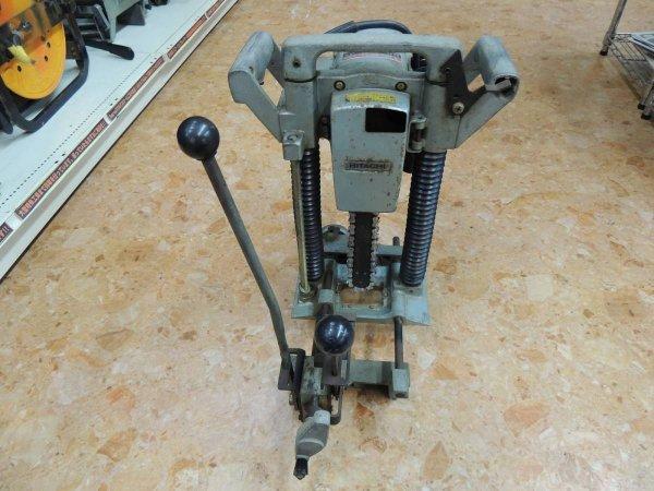 Photo1: Hitachi Chain Mortiser CA-22 #2 (1)