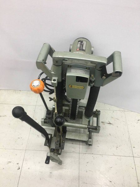 Photo1: HITACHI Chain Mortiser Woodworking tools AC100V BC21SA  #6 (1)