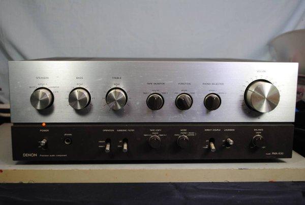 Photo1: DENON PMA-830 Integrated Amplifier (1)