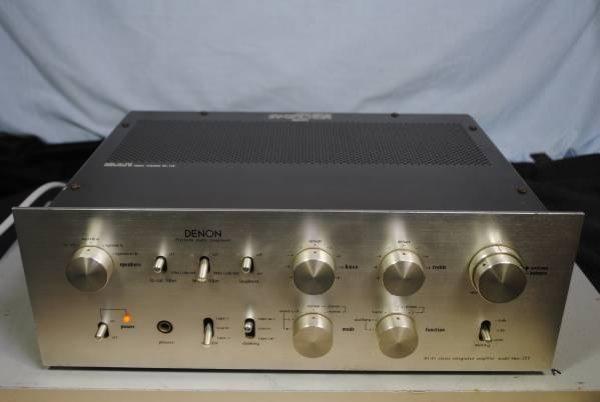 Photo1: DENON PMA-255 Integrated Amplifier  (1)