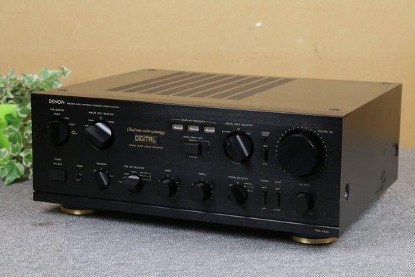 Photo1: DENON PMA-780D Integrated Amplifier (1)