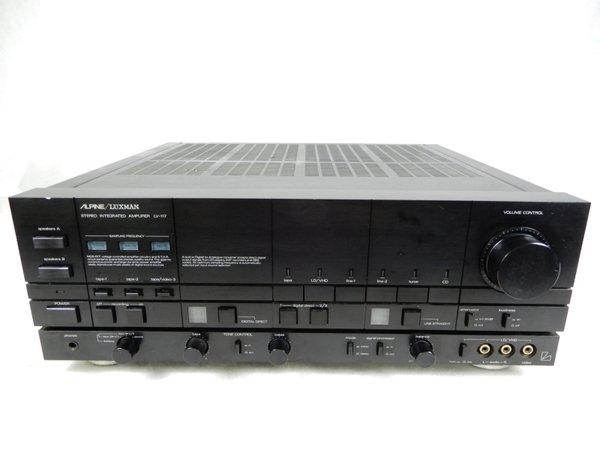 Photo1: ALPINE LUXMAN LV-117 Integrated Amplifier (1)