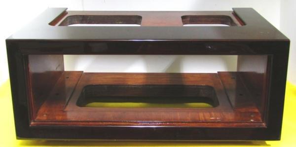 Photo1: LUXMAN: For SQ38FD. Custom wooden box (1)