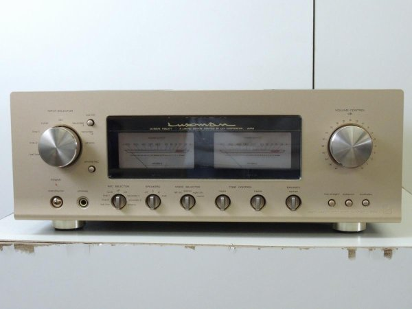 Photo1: LUXMAN L-509s Integrated Amplifier (1)