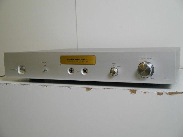 Photo1: LUXMAN Headphone amplifier P - 1 u (1)