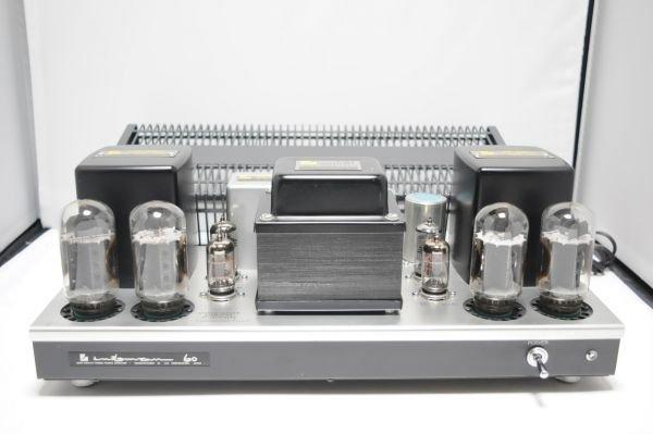Photo1: LUXMAN Tube bulb power amplifier MQ-60 (1)