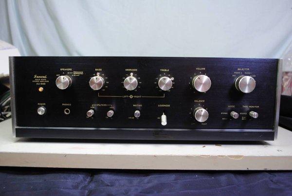 Photo1: SANSUI AU-666 Integrated Amplifier (1)