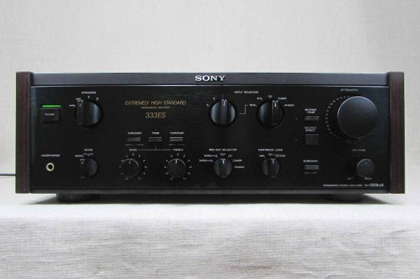 Photo1: SONY TA-F333ESX Integrated Amplifier (1)