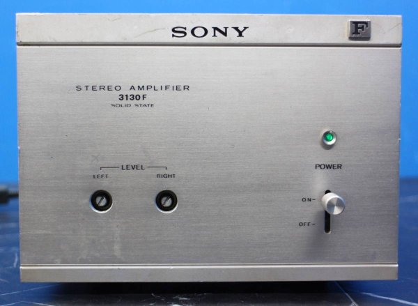 Photo1: SONY 3130F vintage power amplifier  (1)