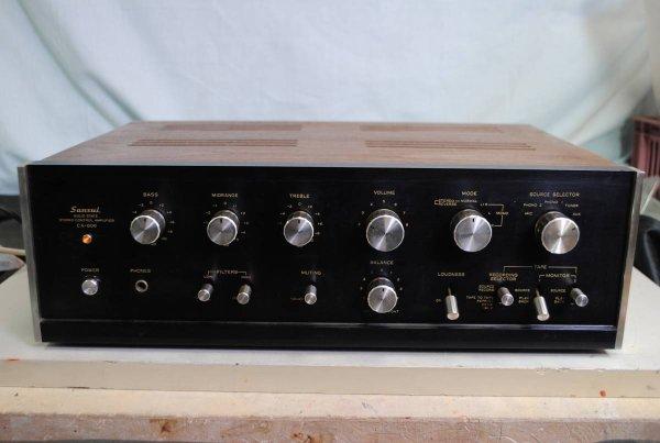 Photo1: SANSUI CA-606 Preamplifier (1)