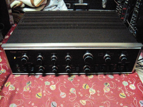 Photo1: SANSUI AU-9500 Integrated Amplifier (1)