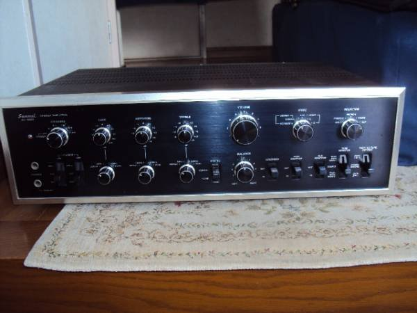 Photo1: SANSUI AU-9500 Integrated Amplifier (1)