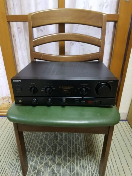 Photo1: SONY TA-F500 Integrated Amplifier (1)