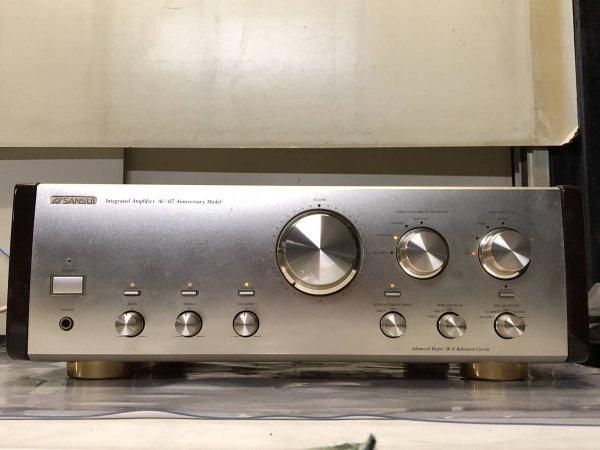 Photo1: SANSUI AU-07 Anniversary Model Integrated Amplifier (1)