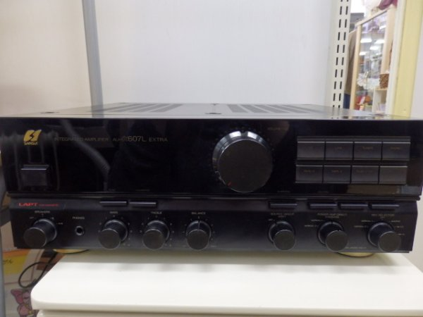Photo1: SANSUI Integrated Amplifier AU-607L (1)