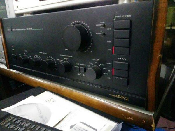 Photo1: SANSUI au-x11 master integrated amplifier (1)