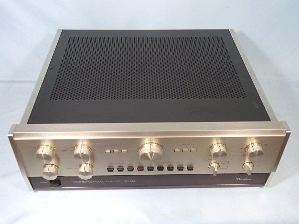 Photo1: Accuphase C-200L stereo preamplifier (1)