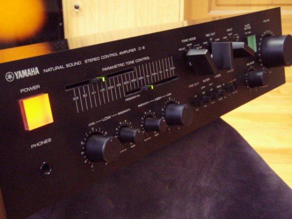 Photo1: YAMAHA C-6 control amplifier (1)
