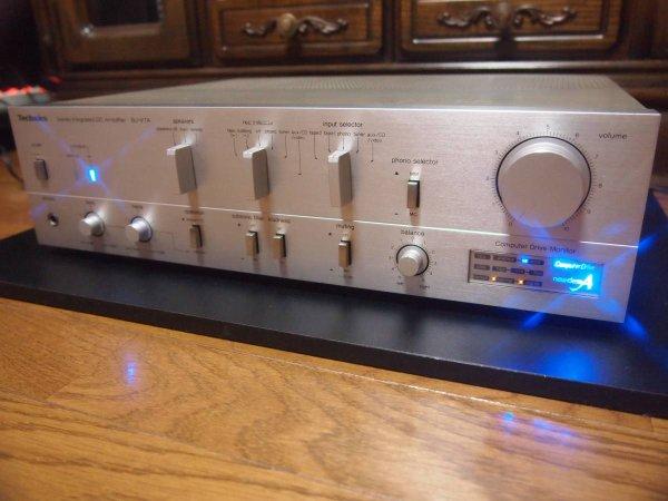Photo1: Technics SU-V7A Integrated Amplifier (1)