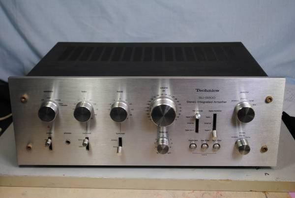 Photo1: Technics SU-8080 Integrated Amplifier (1)