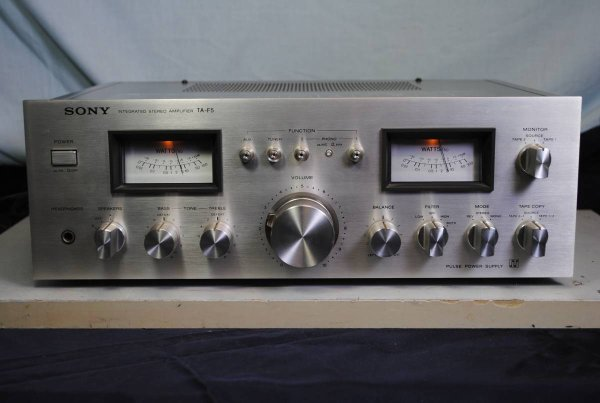 Photo1: SONY TA-F5 Integrated Amplifier (1)