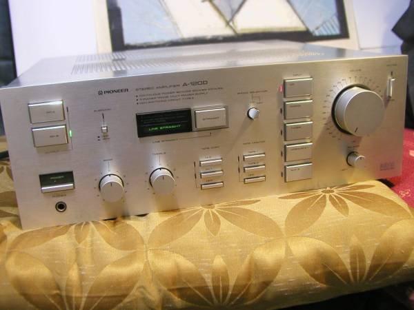 Photo1: Pionner A-120D Integrated Amplifier (1)