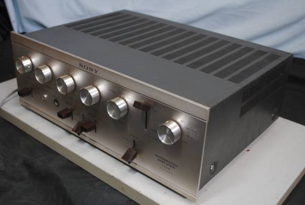 Photo1: SONY TA-1120A Integrated Amplifier (1)