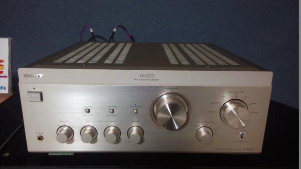 Photo1: SONY TA-FA50ES Amplifier (1)