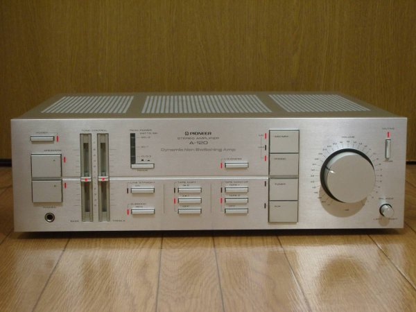 Photo1: Pionner A-120 Integrated Amplifier (1)