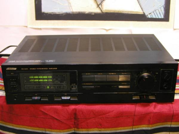 Photo1: Victor AX-600 Integrated Amplifier (1)