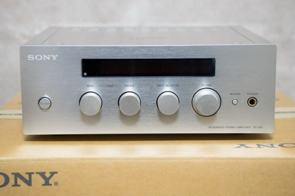 Photo1: SONY TA-F501 Integrated Amplifier (1)