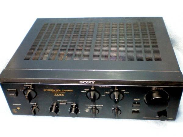 Photo1: SONY TA-F222ESX Integrated Amplifier (1)