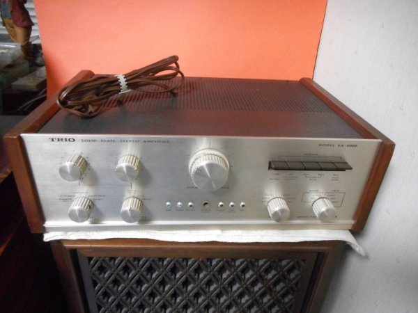 Photo1: TRIO SOLID STATE STEREO AMPLIFIER KA6000 (1)