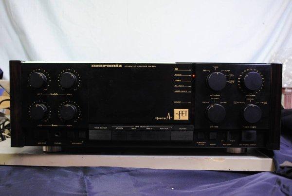 Photo1: Marantz PM-84D Integrated Amplifier (1)