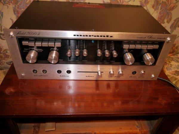 Photo1: Marantz 3600 Amplifier (1)