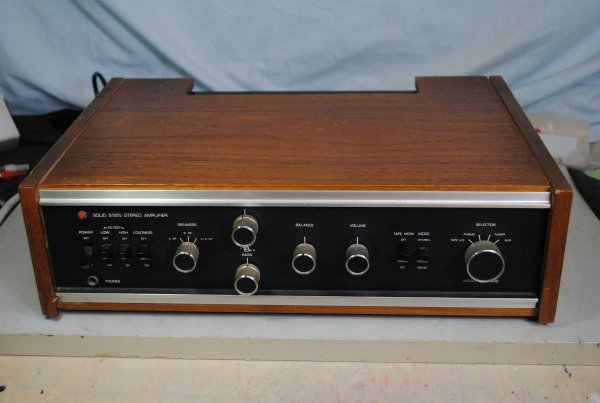 Photo1: PRINZ SOUND A-5000 Integrated Amplifier (1)