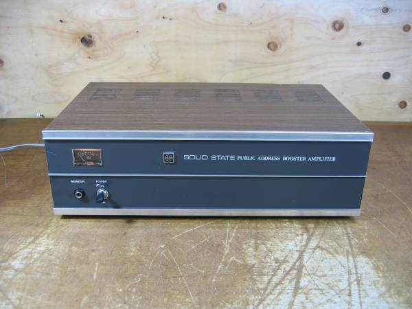Photo1: UNI-PEX PA Amplifier SOLID STATE TBT-515 (1)