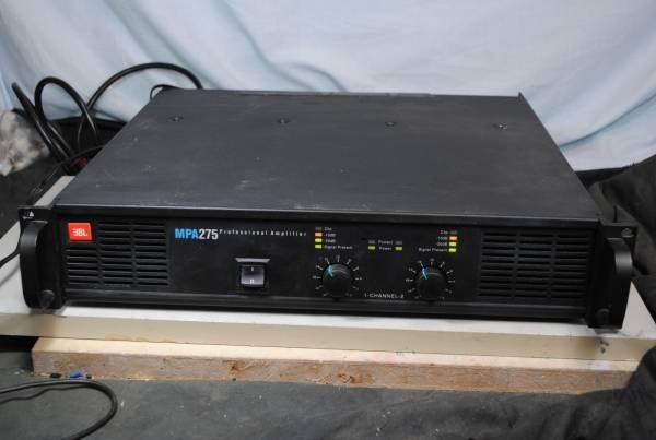 Photo1: JBL Power Amplifier MPA275 (1)