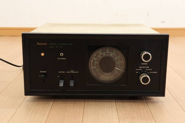 Photo1: Sansui TU-777 FM AM stereo tuner (1)