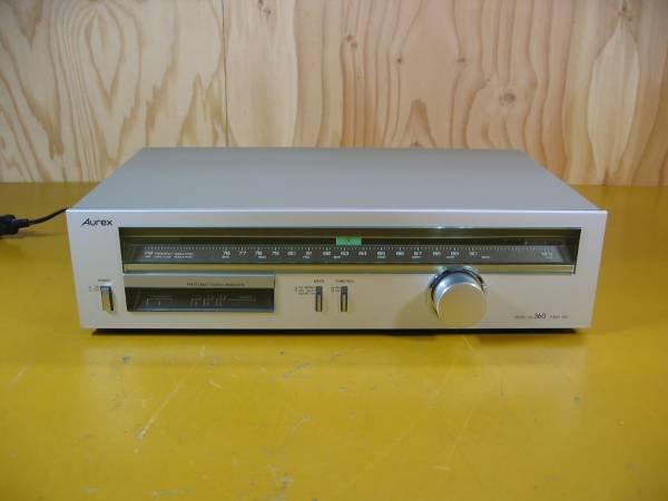 Photo1: Aurex FM / AM tuner SA-360 (1)