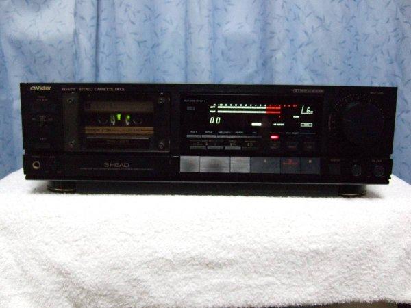 Photo1: VICTOR TD-V711 Cassette deck  (1)