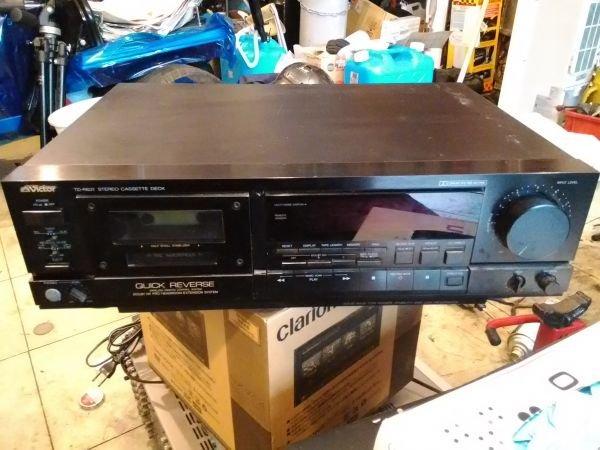 Photo1: VICTOR TD-R631 Cassette deck (1)