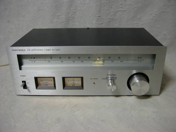 Photo1: COLUMBIA FM AM STEREO TUNER ST-3370 (1)