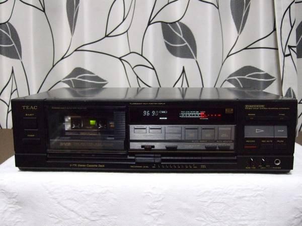 Photo1: TEAC V-770 cassette deck (1)