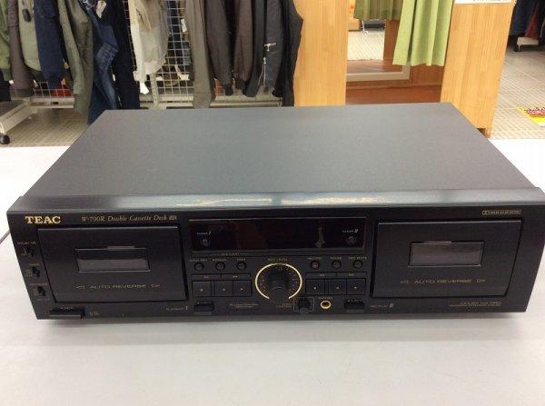 Photo1: TEAC W-790R Double Cassette deck (1)