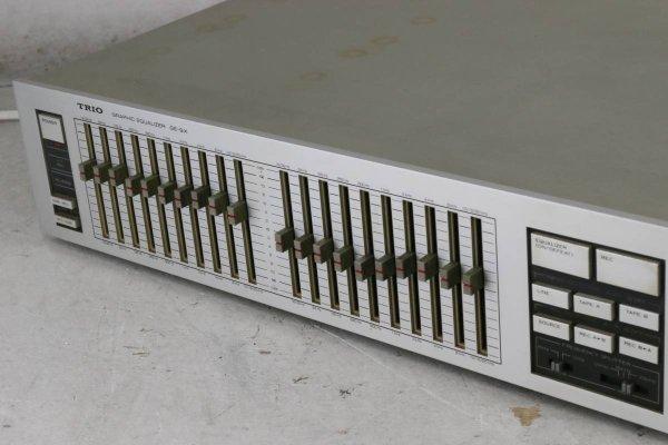 Photo1: Audio Equalizer TRIO Graphic Equalizer GE-9X (1)