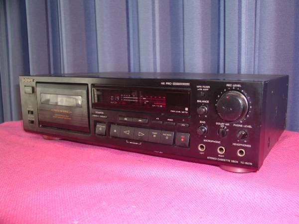 Photo1: SONY TC-RX79 Cassette deck (1)