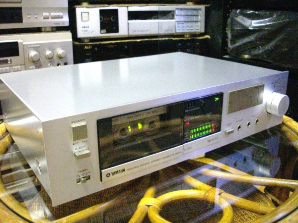 Photo1: YAMAHA K-7100 Cassette Deck  (1)